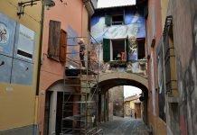 Dozza Muro Dipinto Vittorio D'Augusta