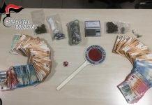 Droga e contanti arresto spacciatore