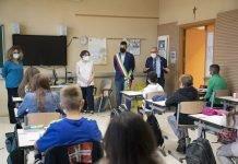 Imola visita scuole sindaco Panieri