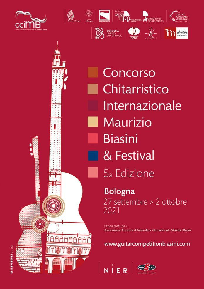 Locandina concorso chitarristico 2021