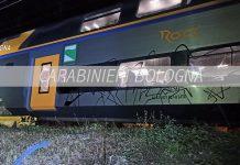 Porretta Terme graffiti treni