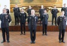 Presentazione ufficiali carabinieri Bologna 2021