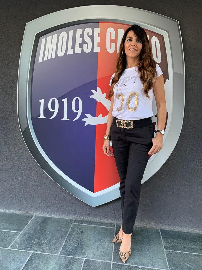 Sabrina Sabatinelli Imolese Calcio marketing