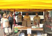 Volontari auser raccolta per scuole