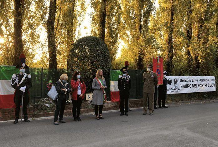 Castel Maggiore staffetta vittime uno bianca