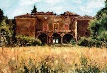 Dipinto Villa Scarselli Golfarelli