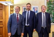 Lepore incontra Paolo Gentiloni ottobre2021
