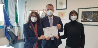 Premiazione Federica Boiani tesi medicina Bologna