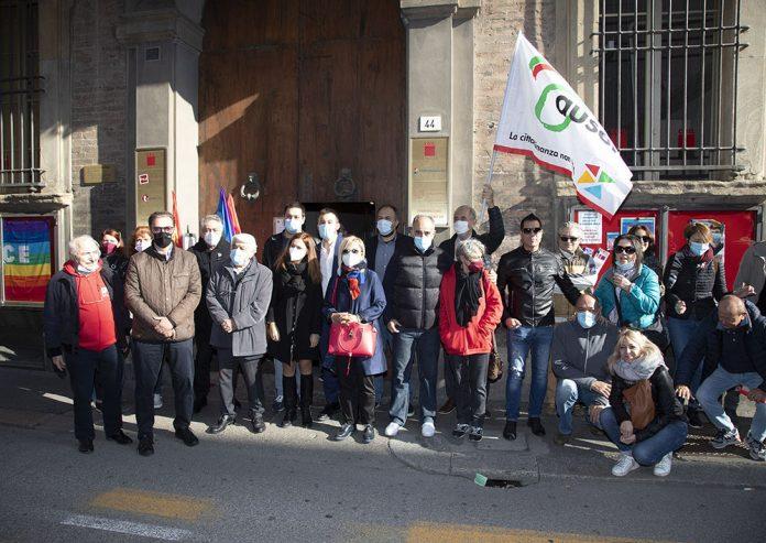 Presidio sindacato CGIL Imola