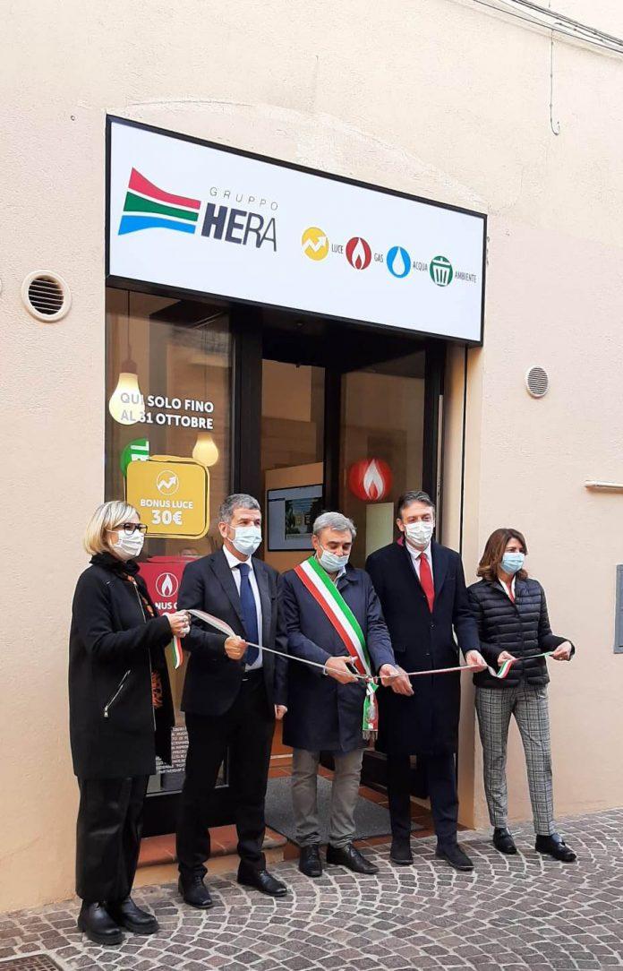 Sportello Hera Budrio inaugurazione 2021